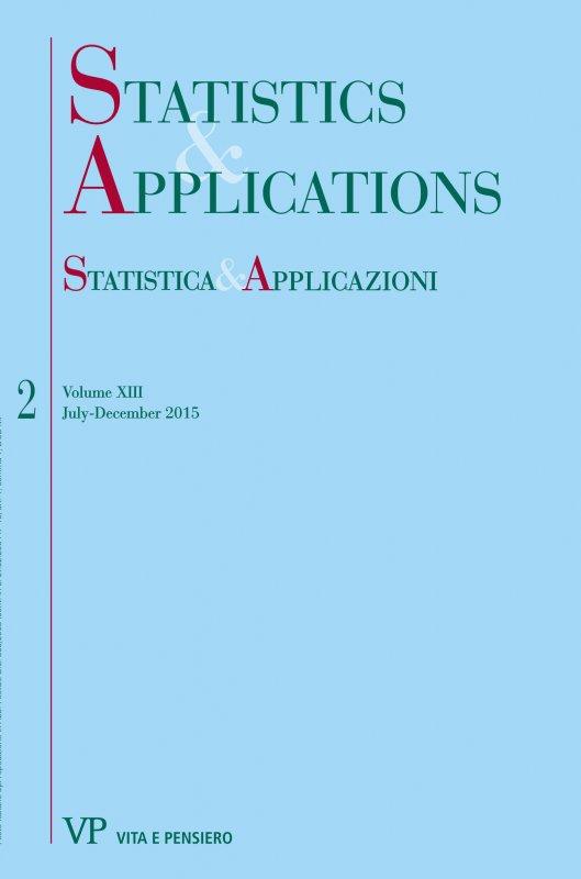 STATISTICA & APPLICAZIONI - 2015 - 2