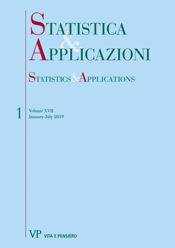 STATISTICA & APPLICAZIONI - 2019 - 1