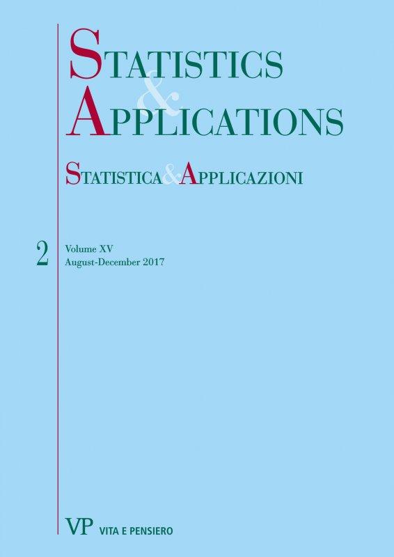 STATISTICA & APPLICAZIONI. Abbonamento annuale - Annual Subscription 2018